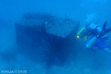 グアム ダイビング 海底の箱 アドベンチャー 冒険