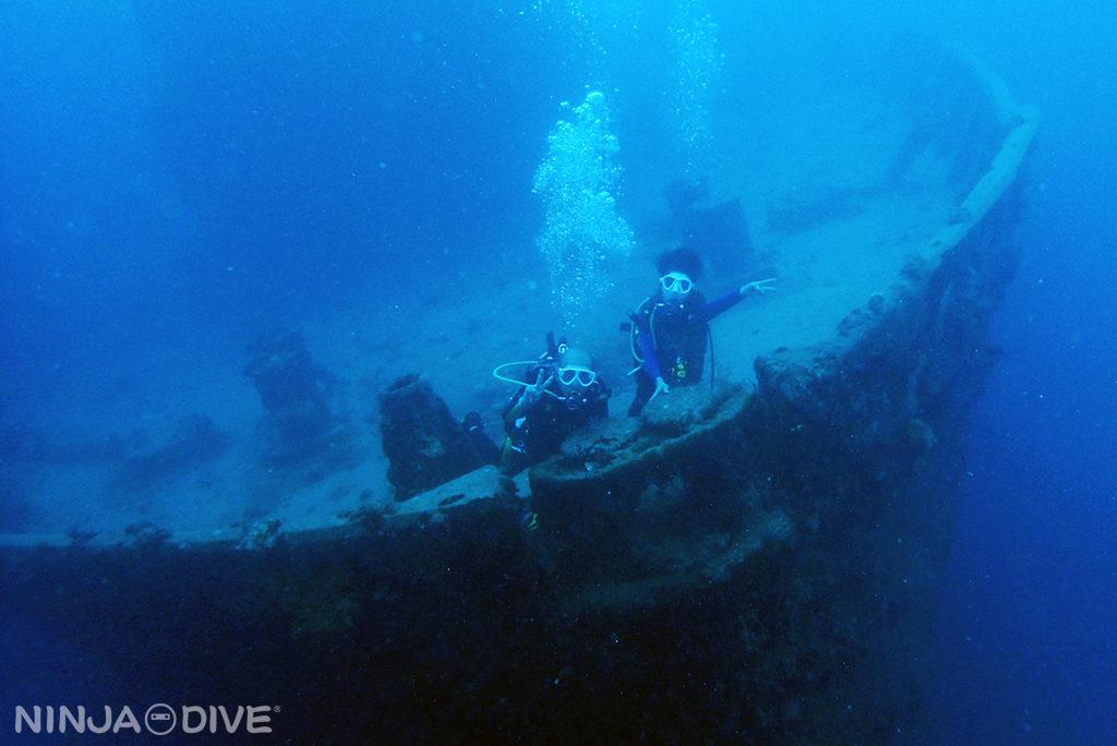 グアム中部 貸し切りボート チャーター ファンダイビング ボートダイビング アメリカンタンカー